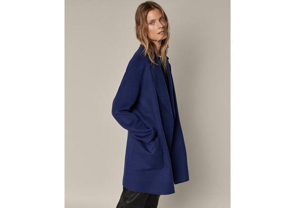 Abrigo corto de lana, de Massio Dutti