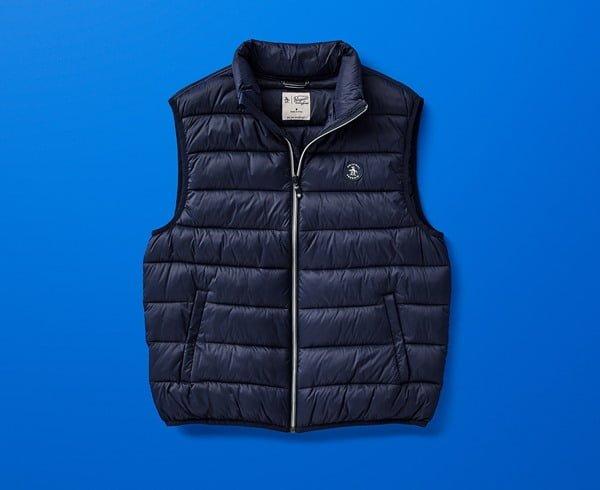 El chaleco es una de las prendas básicas del invierno. Foto Cortesía
