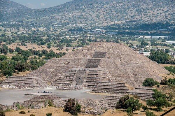 Es la zona arqueológica más cercana a la CDMX. Foto German Rojas en Pixabay