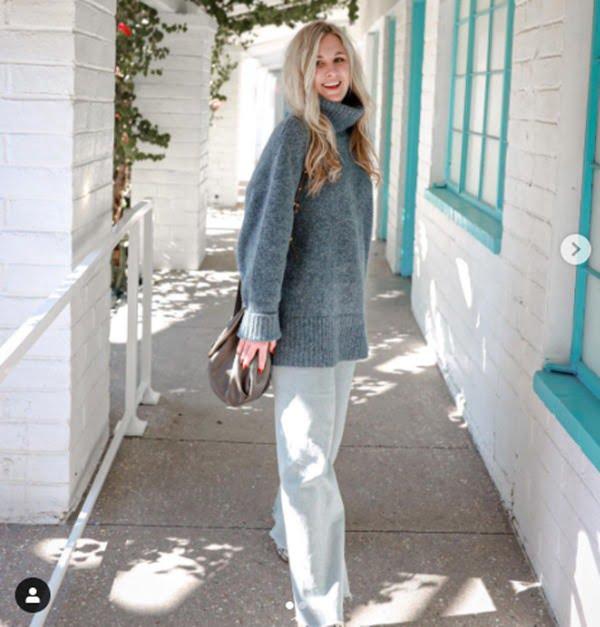 Prendas oversize para un look causual. Foto Instagram@codimusler