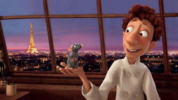 Ratatouille se desarrolla en un restaurante de París