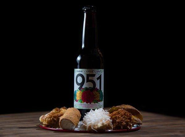Cerveza 951 y dulces tradicionales oaxaqueños. Foto Cortesía