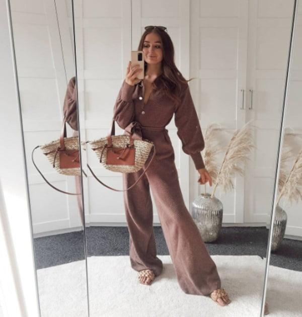 El jumpsuit o enterizo es la prenda ideal para un look casual o formal. Foto Instagram @lottiebown