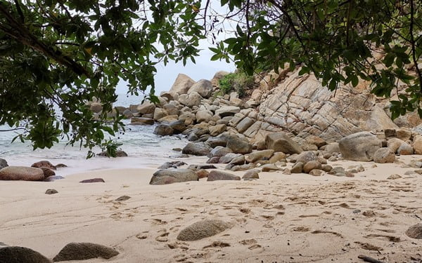 Playa Palmitas, en Acapulco. Foto Cortesía