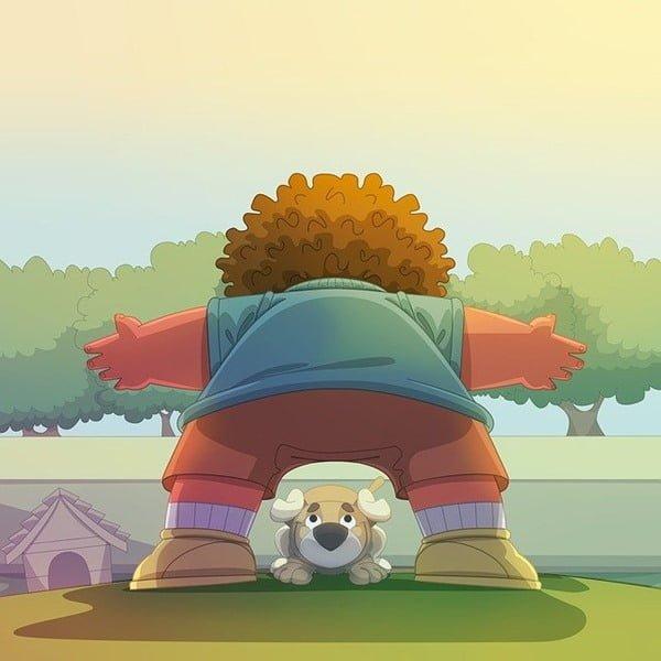 Para muchos, la pandemia resultó el mejor momento para adoptar un perro. Ilustración André Santana AndreMS en Pixabay
