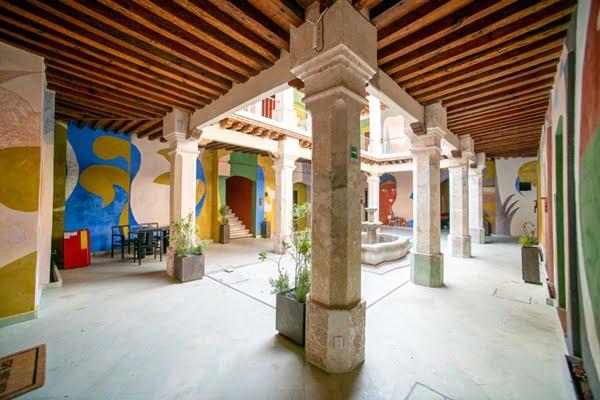 La cultura y la tradicion se disfruta en el hotel Zapoteco. Foto Cortesia